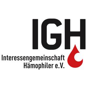 Logo IGH Interessengemeinschaft Hämophiler e.V.