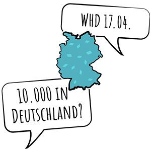WHD 2019 10.000 in Deutschland