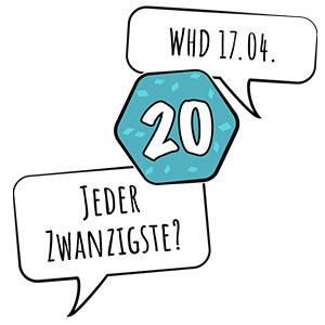 WHD 2019 Jeder Zwanzigste