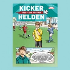 Kinder-Comic: Die Kicker-Helden 01/19