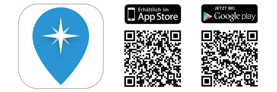 QR Codes für die Travel App