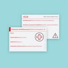 Patienten-Notfallausweis