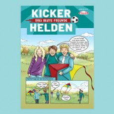 Kinder-Comic: Die Kicker-Helden 02/19