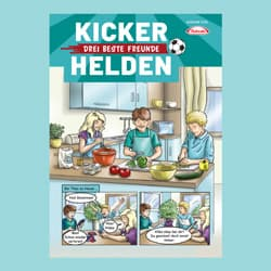 Kinder-Comic: Die Kicker-Helden 03/20