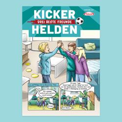 Kinder-Comic: Die Kicker-Helden 02/21